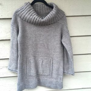 JCrew Brown Cowl Neck Sweater